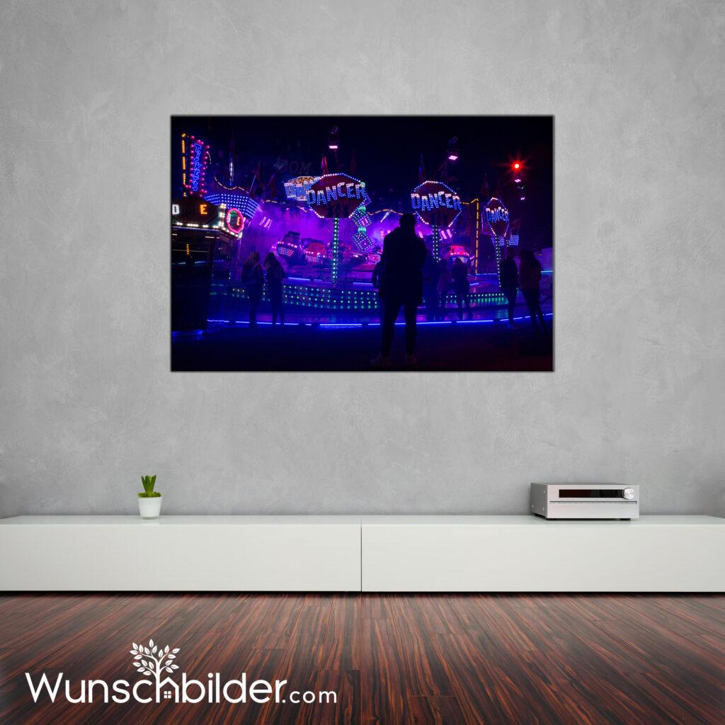 DOM Hamburg Break Dancer - Bild im Wohnzimmer - Fotografie auf Leinwand