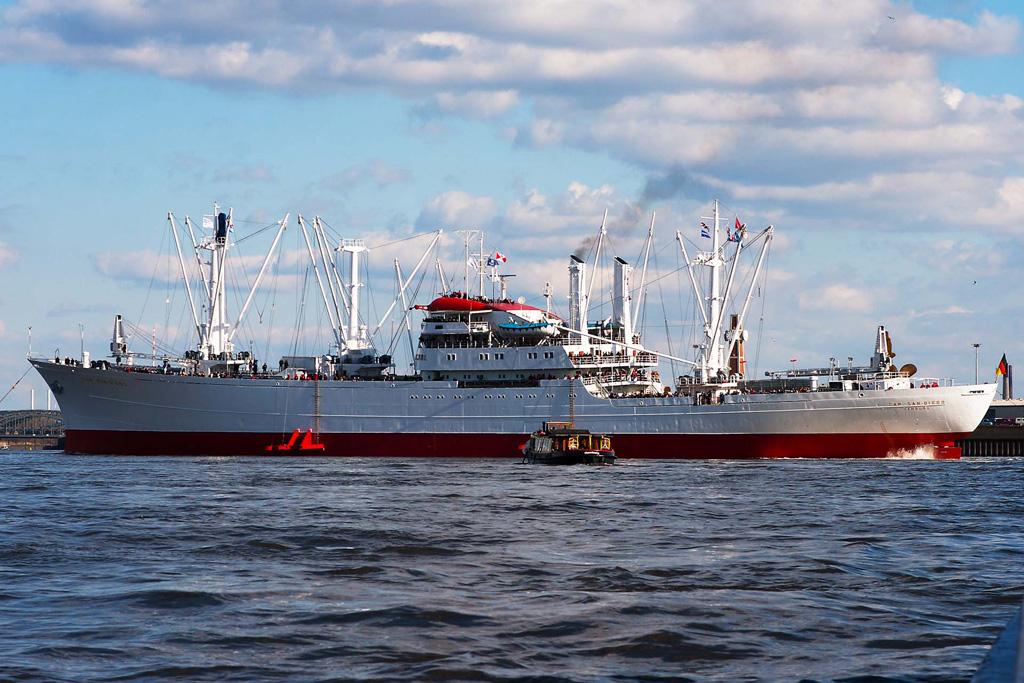 Atlantik Schwan MS Cap San Diego - Hamburg