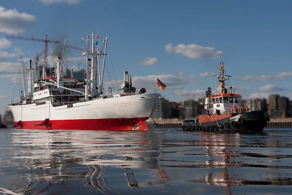 MS Cap San Diego Hamburger Hafen