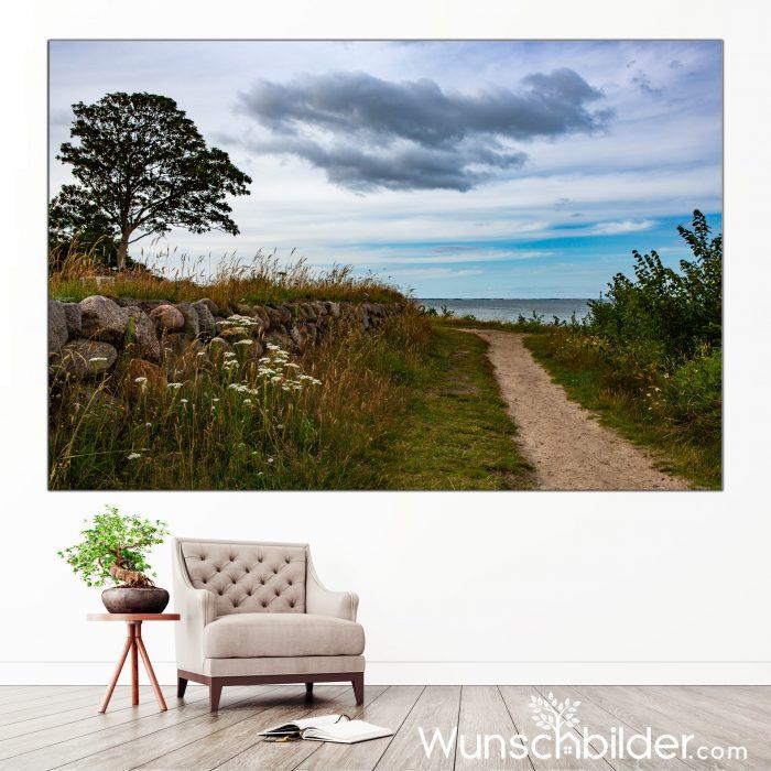 Sylter Pfade - Wandern auf der Insel Sylt - Fotokunst von WUNSCHBILDER.com