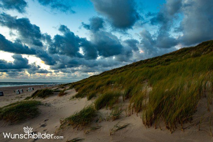 Duenenlandschaft Sylt - Fotografien der Insel Sylt - wunschbilder.com