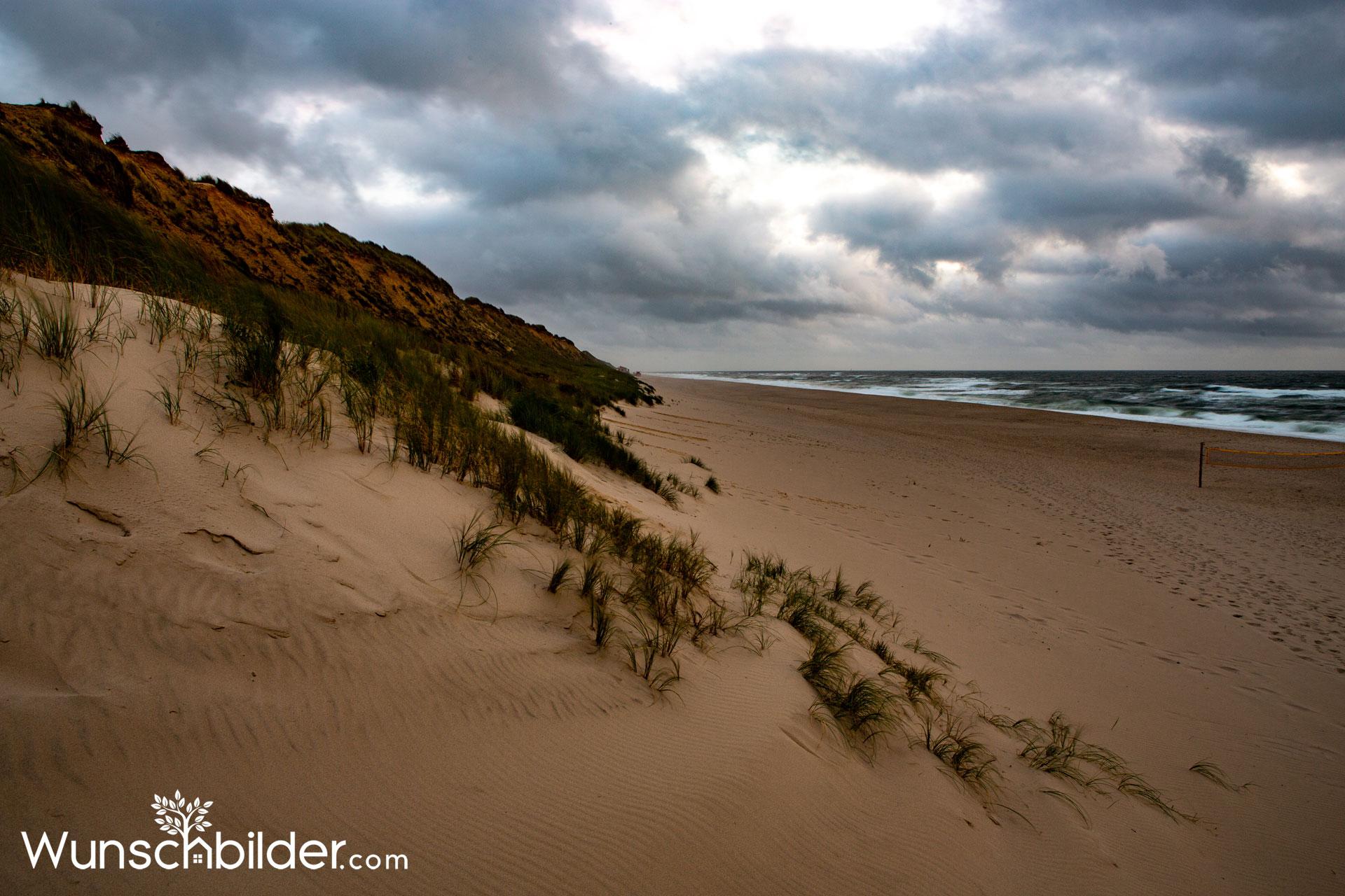 Rotes Kliff Sylt - Sylter-Weststrand - wunschbilder.com - Fotograf Sascha Block