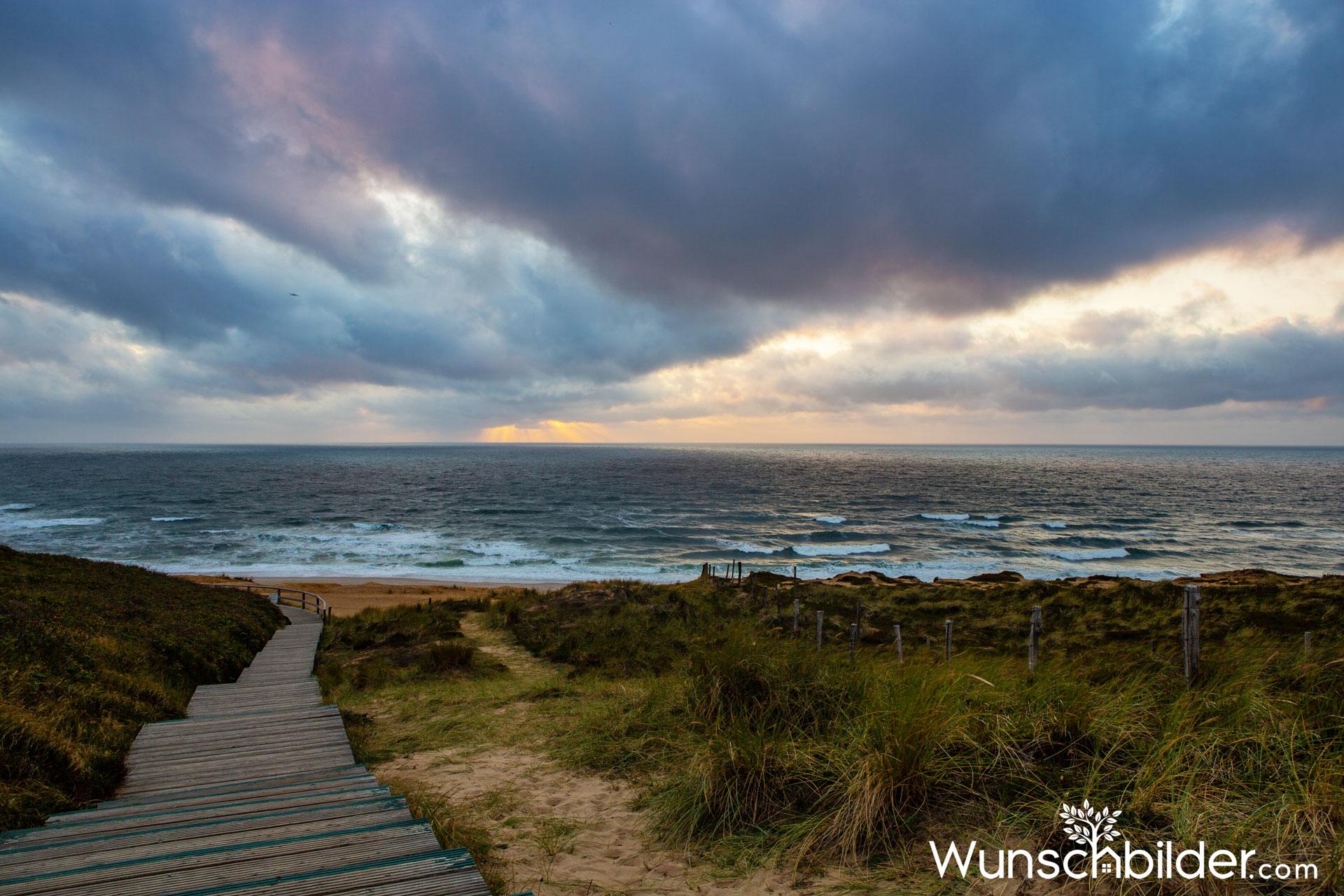 Sylt Weststrand Strandübergang - wunschbilder.com