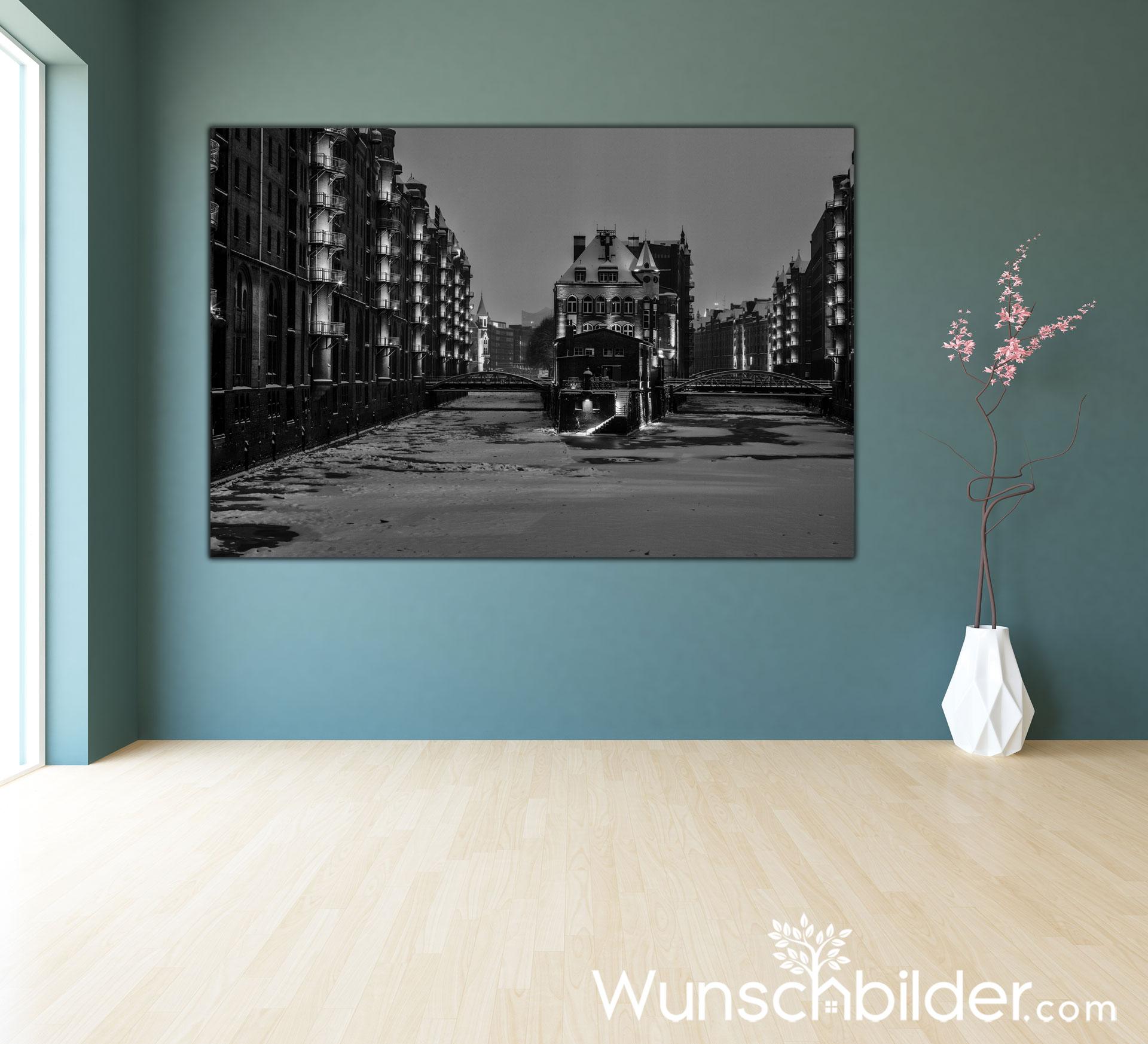 Wasserschlösschen in der Speicherstadt Hamburg - Winter Dream