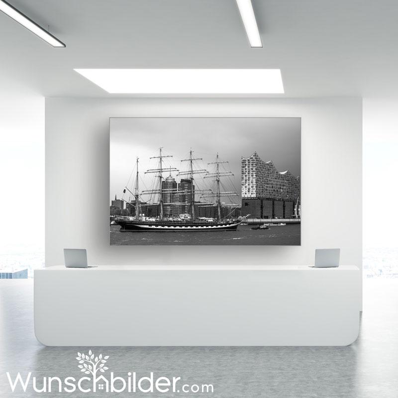 Hamburg Bilder - Fotografien mit Hamburg Motiven und dem Hamburger Hafen - WUNSCHBILDER.com